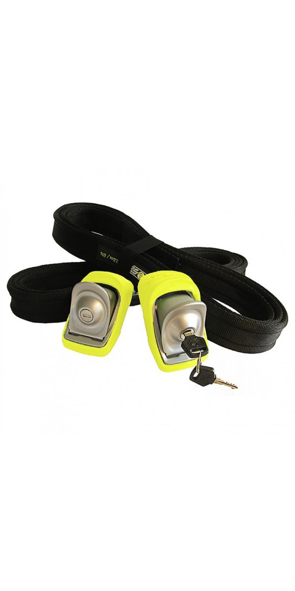 KanuLock lockable Straps for your Board, SUP, and kayak for sale