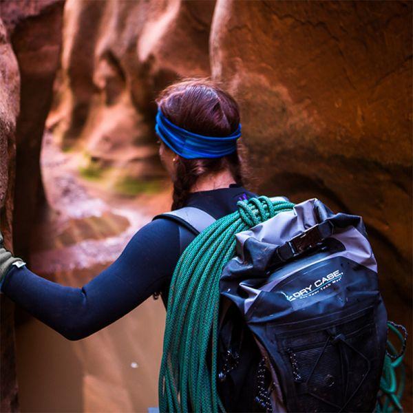 c6cfe915e2 DryCase Masonboro Gray Waterproof Backpack – Walk On Water SUP