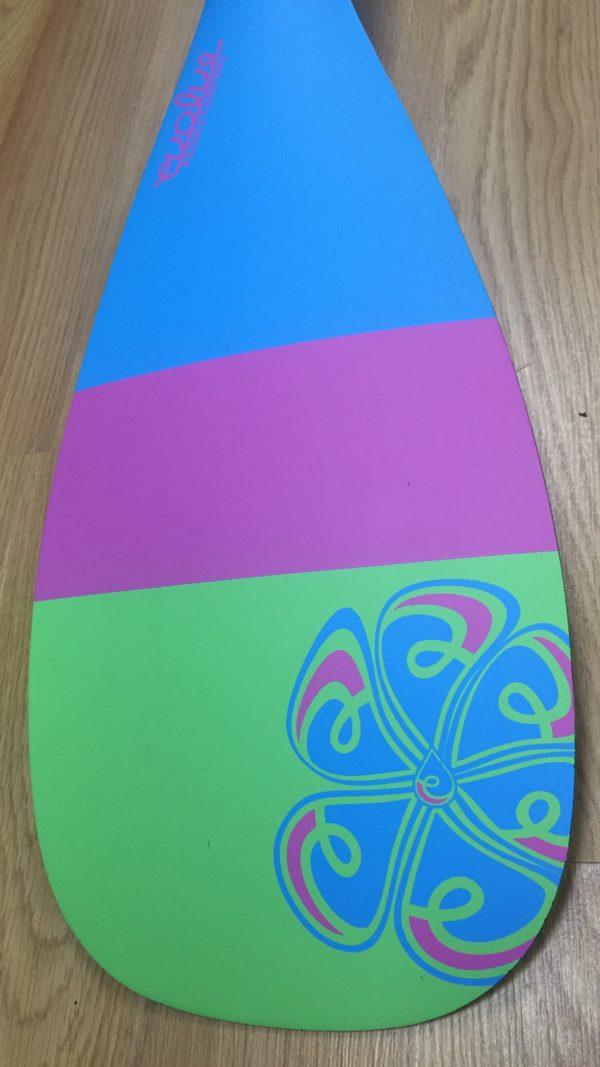 Evolve 3k Carbon Tri Color SUP Paddle for sale