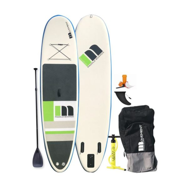 Movement Inflatable SUP with bag, patch kit and fin for sale
