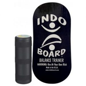 balance trainer, black rocker indo board, core training, exercise, strength training, endurance training