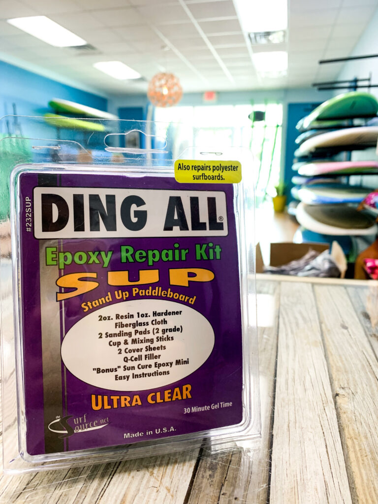 Ding ALL Epoxy Repair Kit for Stand Up Paddle Boards (SUP)