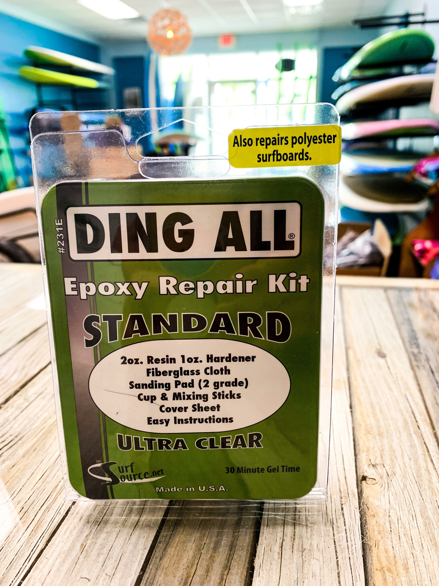 Ding All Epoxy Repair Kit - Standard Ultra Clear